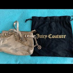 Gold crossbody Juicy Couture